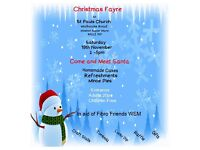 Christmas Fayre at St Pauls Church in aid of Fibro Friends WSM