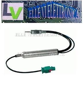 0080-MCA-Cavo-Adattatore-Antenna-Autoradio-Segnale-Radio-Fakra-DIN-Citroen-C5