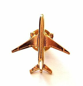 4 Collectible Gold Plated Airplane Lapel Pin - Set of Four $24.9