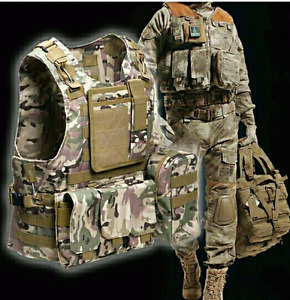 Tactical milliary hunting vest. Practical with lots slots pocket