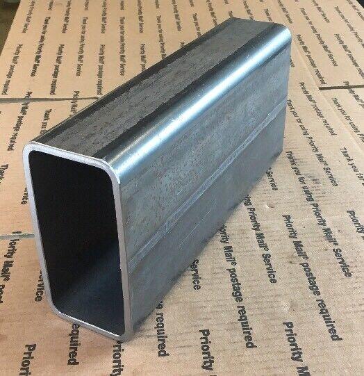"6 X 3 Steel Square Rectangular Tubing 1/4"" Wall Bracing Support 12"" Long Welding"