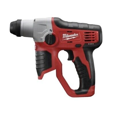 Milwaukee M12 2412-20 Lithium-ion Cordless 12 In. Sds-plus Rotary Hammer New