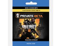 Black Ops 4 Beta Code