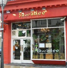 Waiting staff for Sawadee Thai Restaurantin Brighton
