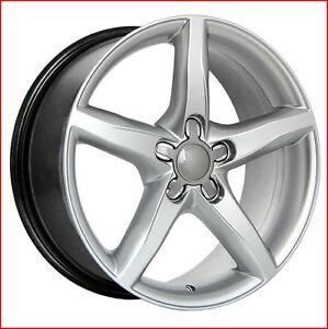 Roues (Mags) 4 saisons  Replica R14 Hyper Argent - Audi