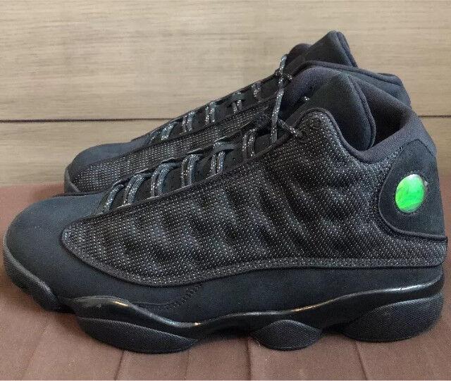a550baf24d3a Nike Air Jordan 13  Black Cat  Trainers