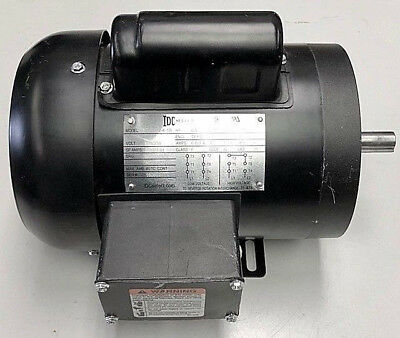 Electric Motor 12-hp 1800-rpm 56-frame 1 Single-phase 58 Keyed Shaft New