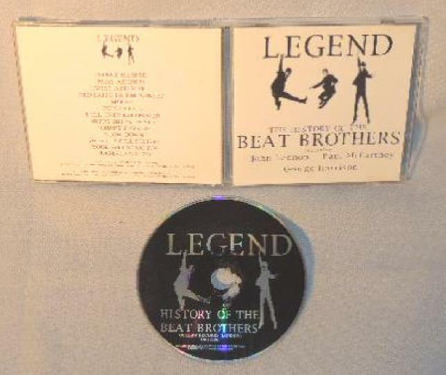 Cd The Beatles Legend The History Of The Beat Brothers Mint Uk