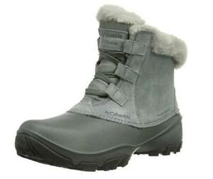 NEW Columbia Womens Sierra Summette Shorty Winter Boot Black Condtion: New, Light Grey, Oyster, 9 B(M) US