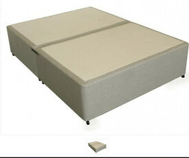 Deluxe Double Divan Bed Base (sold seperately or with a mattress) pick-up only