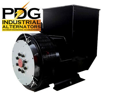 60 Kw Alternator Generator Head Genuine Pdg Industrial 3 Phase Pdg-224e-3