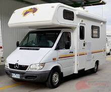 Winnebago Mercedes Sprinter Motorhome - 4 berth, shower toilet Wodonga Wodonga Area Preview