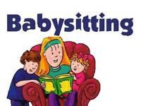 Nanny/ babysitting