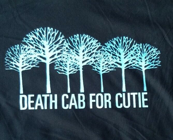 DEATH CAB FOR CUTIE T Shirt Rock Band Spring Tour 2006 Mens S NOS Deadstock NEW