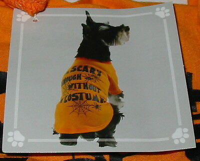 Dog Tee Shirt Halloween Small size Im Scary shirt Super Deal Celebrate it 34C