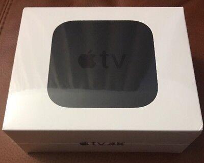 New Sealed Apple TV 4K Digital HDR 32GB Media Streamer MQD22LL/ NewModel  2017