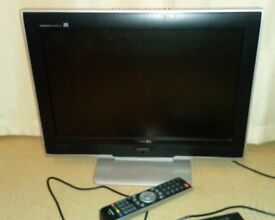 Toshiba 19 inch freeview tv with remote. In West Lothian