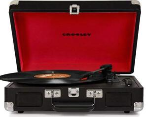 Crosley Cruiser Deluxe Portable 3-Speed Turntable with Bluetooth