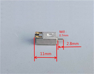 10x Ultra-small Motor Miniature Dc Motor Dc3v 3.7v 5v 20000-33000 Rpm Diy Toy