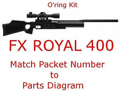 FX Royal 400 500 O'ring Kit