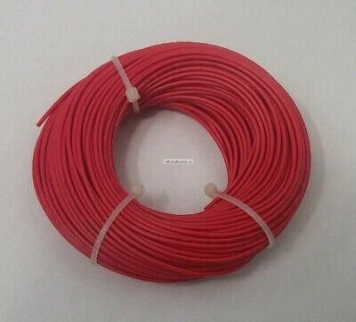 22 Awg Tinned Copper Stranded Hook Up Wire 100 Feet Red Ul1007