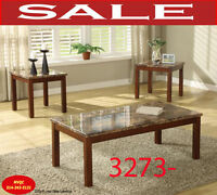 Model 3273-31, coffee table, 2 end tables