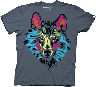 Face Says Hungry Like A Wolf Adult T Shirt ~ LOOK CLOSE ~ Awesome Picture (Looks Like Adult T-shirt)