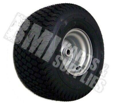 """15/"""" x 6.00-6 Super Turf Tire /& Rim 1/"""" Bore 15X600-6 15X6X6 15//600-6 Kart Yerf"""