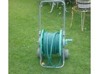 hozelock garden hose on wheels