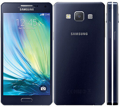 New Unlocked Native Samsung Galaxy A5 SM-A500F 16GB 13MP GSM Smartphone Black