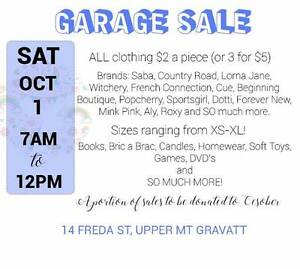 HUGE FASHION GARAGE SALE! ALL CLOTHES $2 Upper Mount Gravatt Brisbane South East Preview