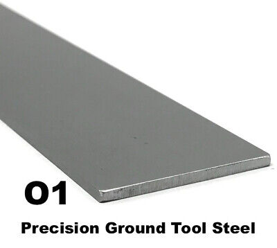 O1 Tool Steel Flat Bar 316 X 2 X 18 Knifemaking Blade Steel Precision Ground