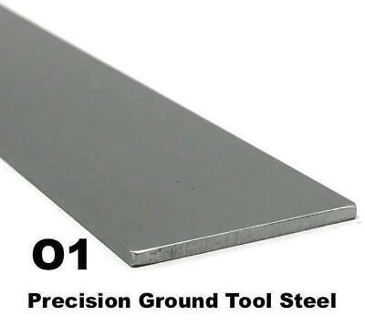 O1 Tool Steel Flat Bar 18 X 2 X 9 Knife Making Blade Steel Precision Ground