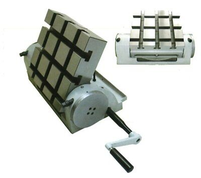 Schwenktisch Frästisch 0 - 90° verstellbar 150 x 150 mm  mit 6 T-Nuten 10 mm