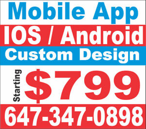 MOBILE APPS STARTING FROM $799 ONLY CALL US FOR MORE DETAILS