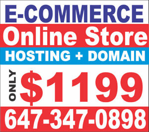 E COMMERCE WEBSITE ,ONLINE STORE STARTING FROM $1199 ONLY