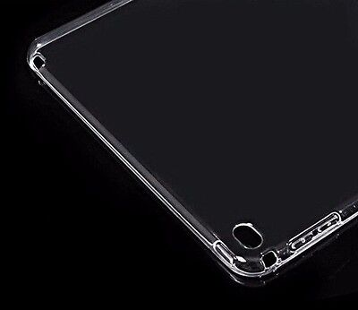 For iPad 4th 3rd 2nd Gen -TPU RUBBER GUMMY GEL SKIN CASE COVER TRANSPARENT CLEAR for sale  Shipping to India