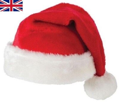 Unisex Father Christmas Hat XMAS Santa Family Gift For Adult Kid Baby lot - Christmas Hats For Adults