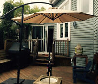 Parasol de terrasse / Deck or patio umbrella