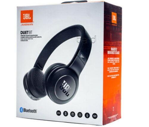 JBL Duet BT Wireless On-Ear Headphones with 16-Hour Battery Black