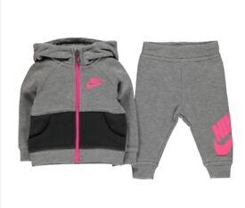 Baby girl Nike tracksuit brand new