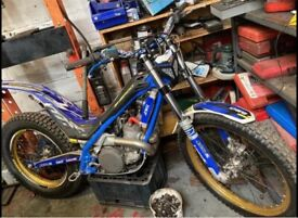 sherco st 250 ROAD REGISTERED trials bike, gas gas , beta , scorpa