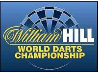 2 darts ticket world championship semi final sat 30th dec