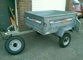 Erde 102 Trailer + cover + spare wheel