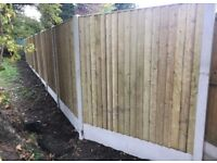 💫New Straight Top Feather Edge Fence Panels • Excellent Quality •