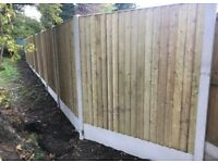 🚨New Flat Top Feather Edge Fence Panels • Excellent Quality • Wooden
