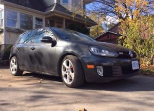 2010 Volkswagen GTI w Winters and hitch