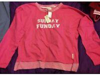 lovely pink jumper size 10 - 12 New Primark