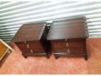 Open too offers/ Stag mahogany bedroom furnatuire set
