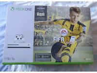 """FIFA 17 1TB Xbox One S console bundle """"BRAND NEW SEALED"""""""